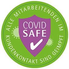 Covid Safe! Alle RYS-Mitarbeitenden im Kundenkontakt sind geimpft.